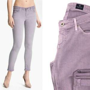 AG The Legging Purple Super Skinny Jeans 25R